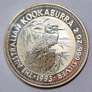 Kookaburra Vorderseite (jährlich wechselndes Motiv)
