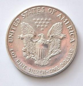 Silver Eagle Rückseite