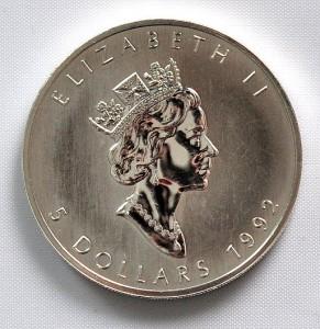 Maple Leaf Rückseite, 1990-2003