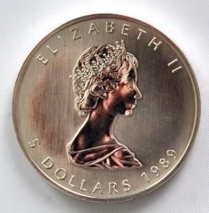 Maple Leaf Rückseite, 1988-1989